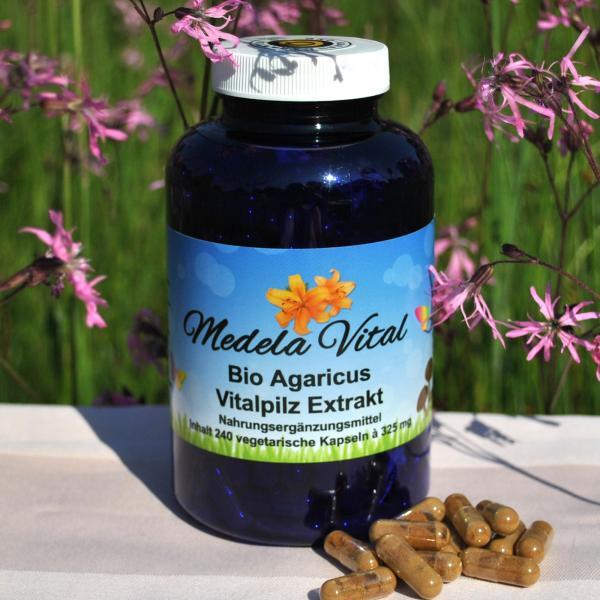 Medela-Vital Bio Agaricus Extrakt