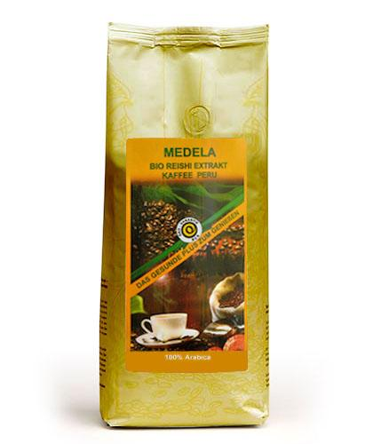 Medela Vital Bio Reishi Extrakt Kaffee Peru Arabica